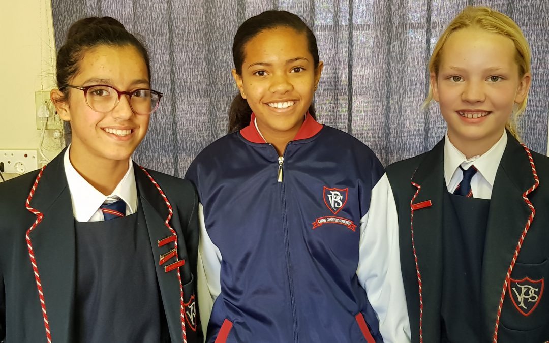 PVS girls win EMS Olympiad