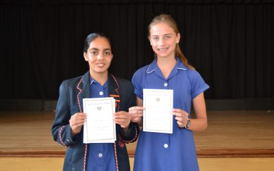 October Academic and Co-curricular Awards