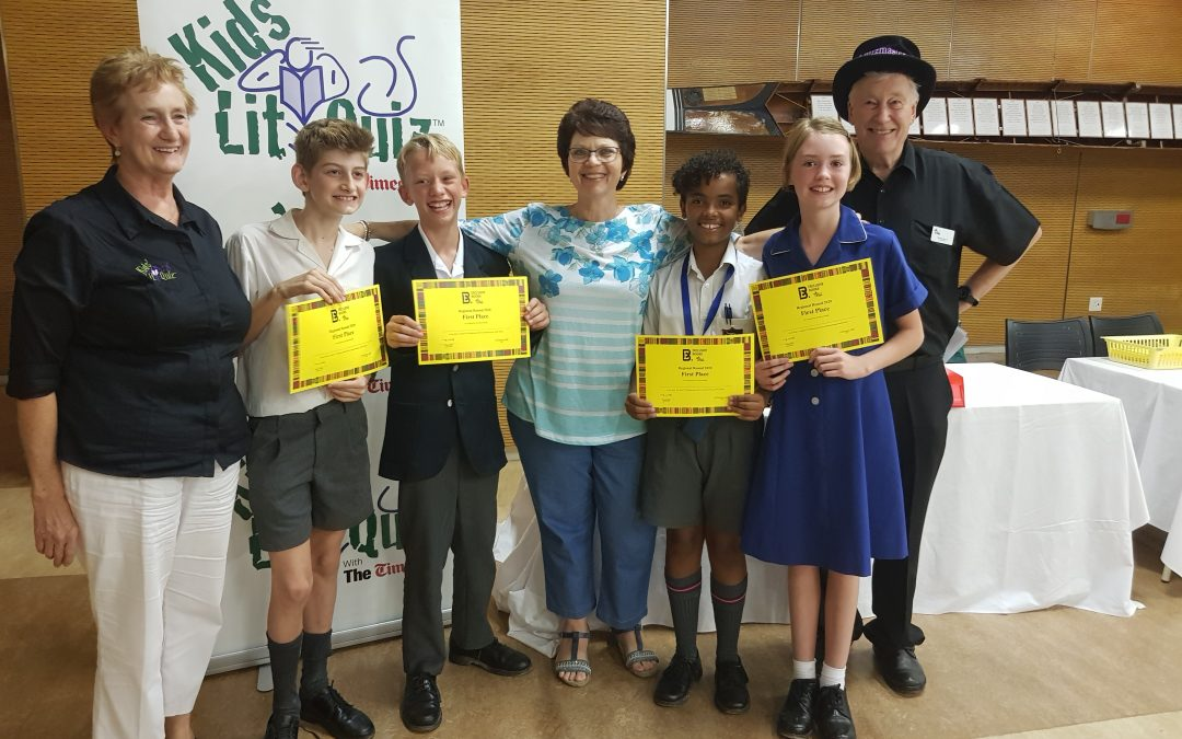 PVS wins the Gauteng round of Kids' Lit Quiz!