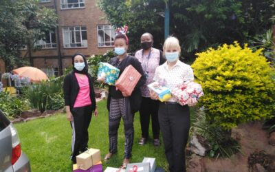 Park Care residents enjoy our Christmas gift boxes